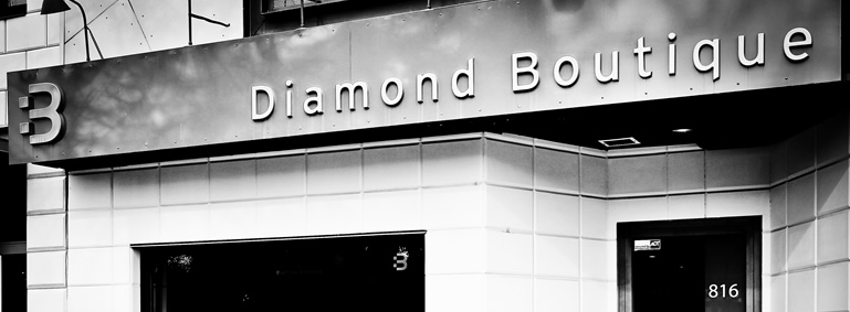 diamond boutique glamorous diamond jewlery in Calgary